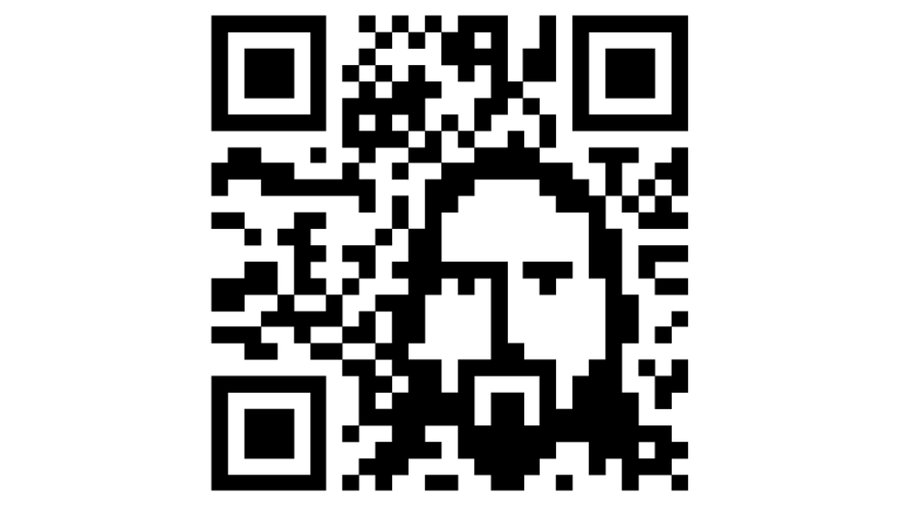 QRcode in negativo