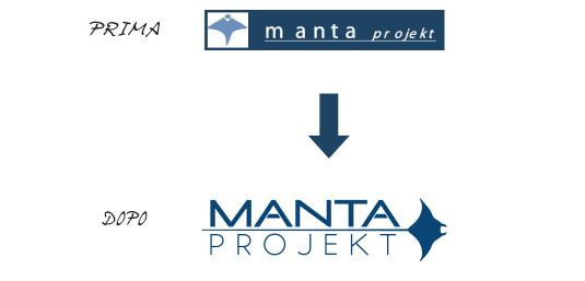 manta logo restyling