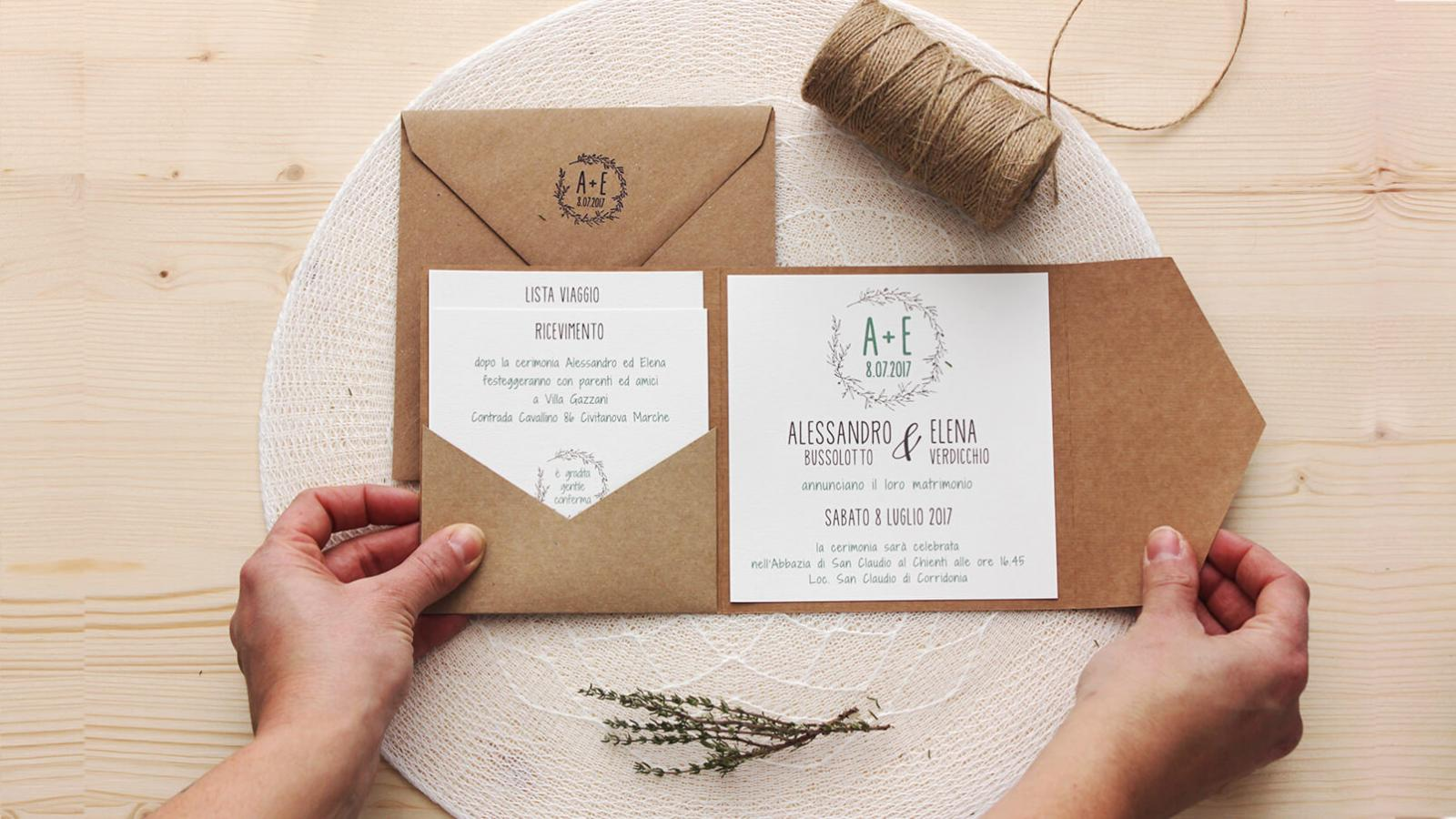 carte da matrimonio