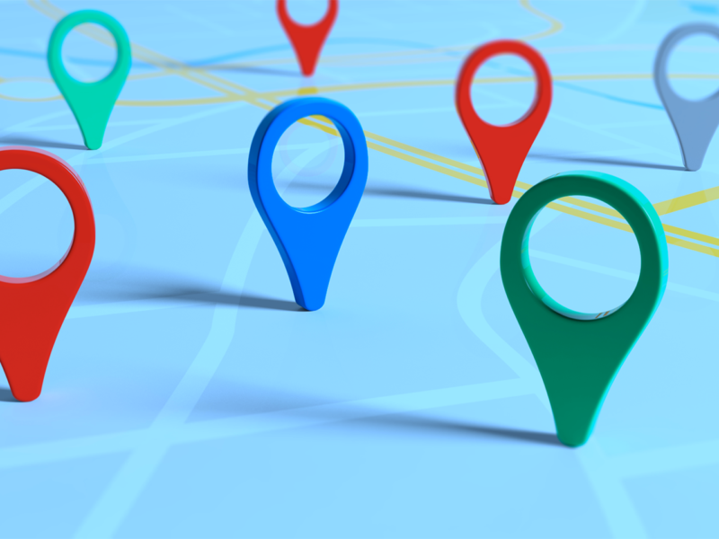 eliminare i landmarks da google maps